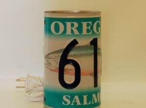 Oregon Salmon Plate Light
