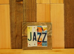 JAZZ License Plate Sign