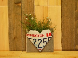Washington Heart Wall Pocket