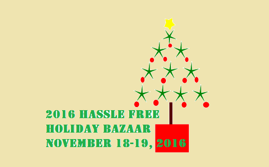 2016 Hassle Free Holiday Bazaar