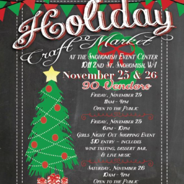 Holiday Craft Market & Girls Night Out