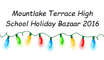 Mountlake Terrace High School Holiday Bazaar 2016